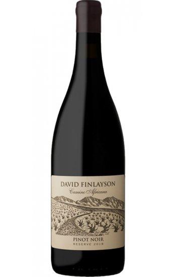 David Finlayson Camino Africana Pinot Noir Reserve 2018